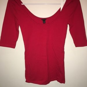 ✨NEW✨ RED ANN TAYLOR TOP